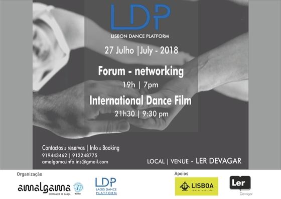 Simpósio & Mostra de Filme Dança Internacional