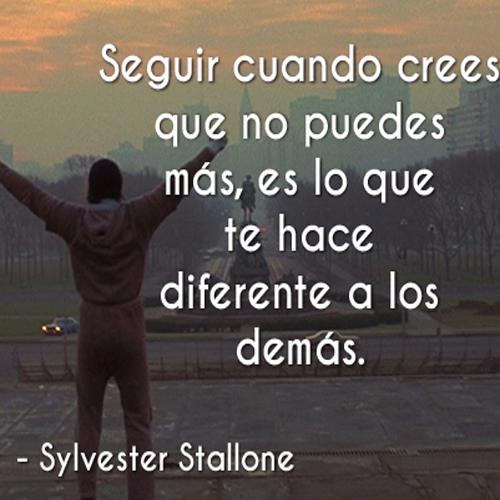 Frases Célebres Cuando Crees Que No Puedes Más Sylvester