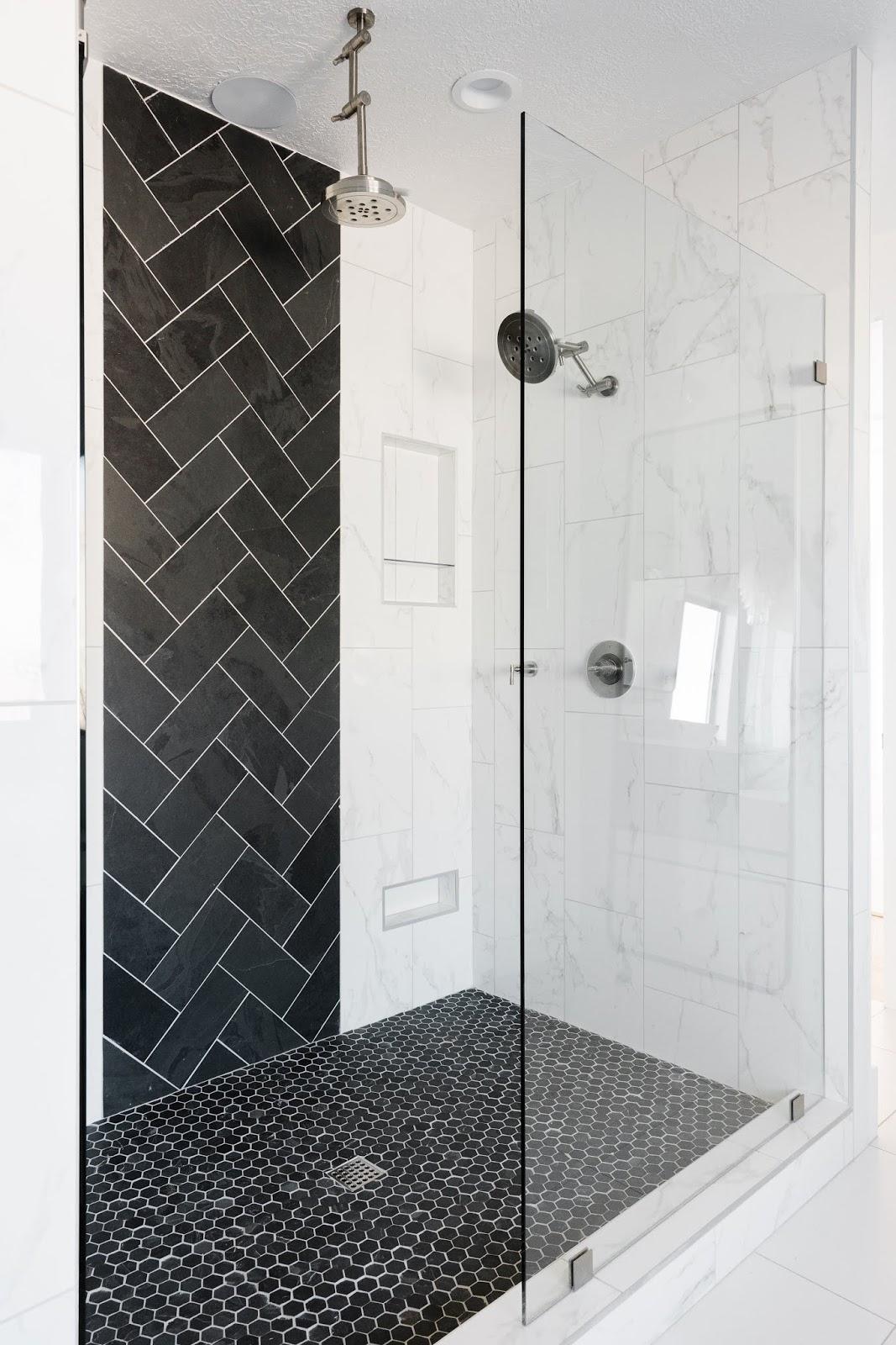 Master Shower, Modern Shower