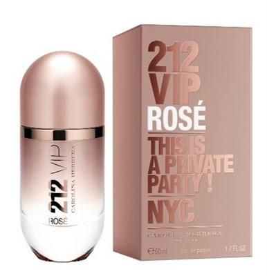 Emabalagem e Frasco do Perfume 212 VIP Rosé Eau de Parfum - Carolina Herrera