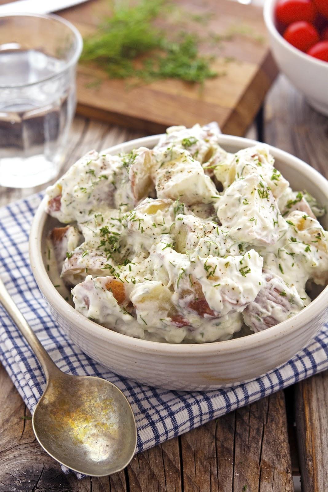 Ina Garten Tzatziki the iron you: tzatziki potato salad