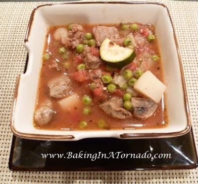 Rosemary Beef Stew | www.BakingInATornado.com | #recipe