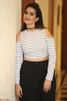 Manjusha in sleevelss crop top and black skirt at Darshakudu pre release ~  Exclusive Celebrities Galleries 032.JPG