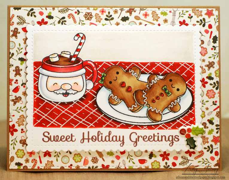 A thousand sheets of paper sweet holiday greetings supply list cardstock papertrey ink and bazzill paper pebbles merry merry stamps your next stamp sweet holiday greetings set m4hsunfo