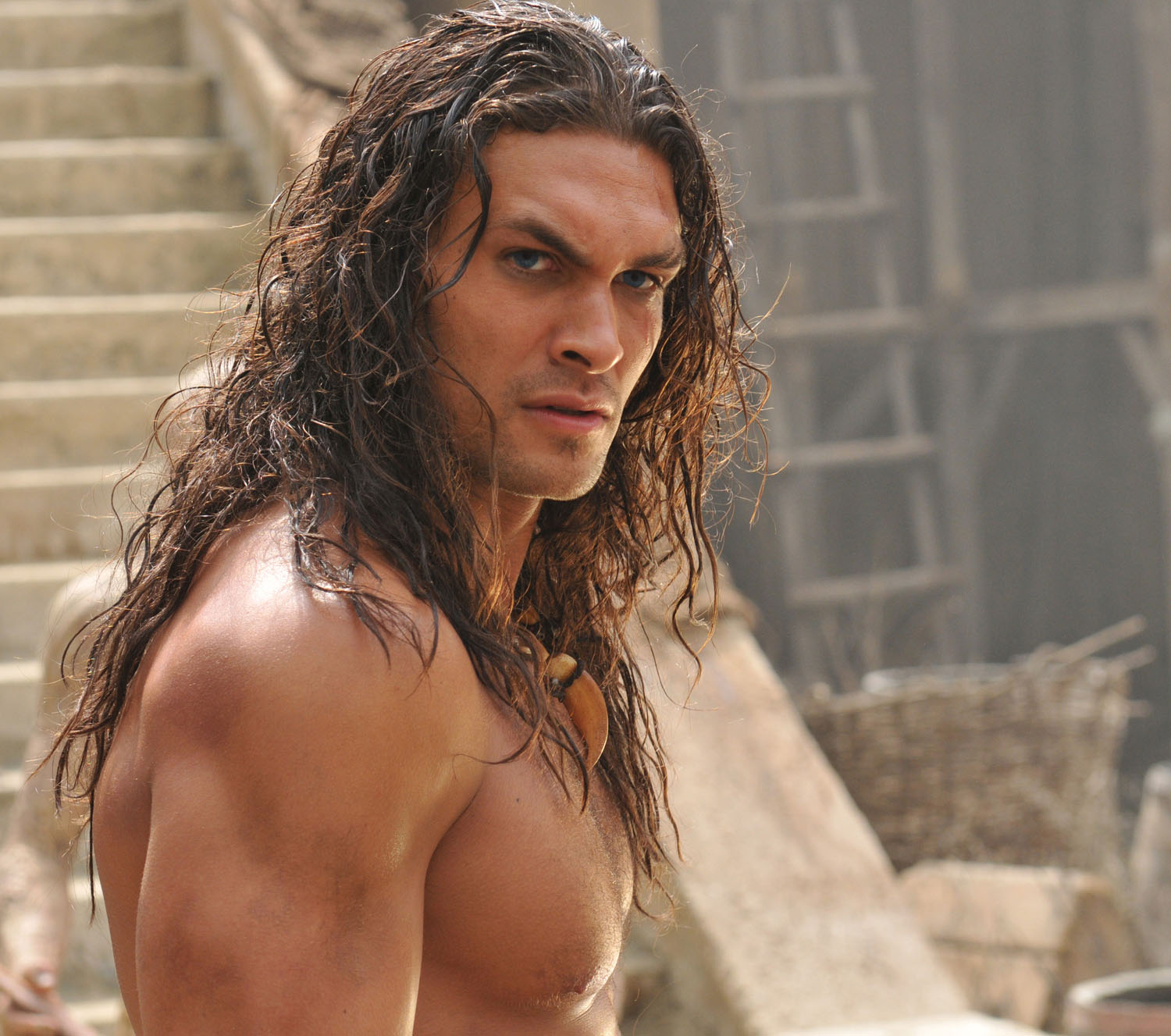 Jason Momoa 2011: Tower Of The Archmage: Conan The Barbarian