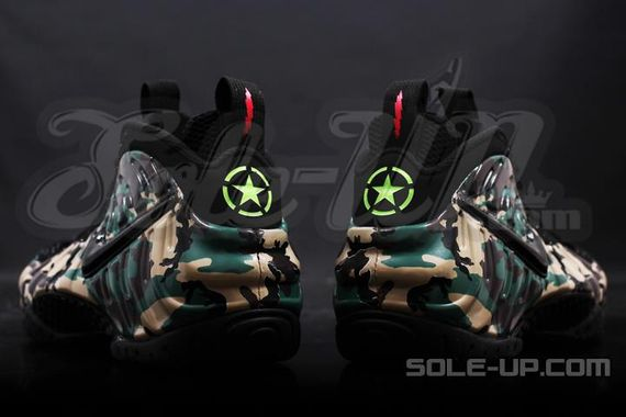"""new product 7b62a 43232 PERSPIRE 2014: Nike Air Foamposite Pro """"Green Camo"""""""