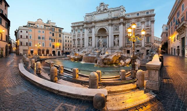Informações sobre a Fontana di Trevi em Roma