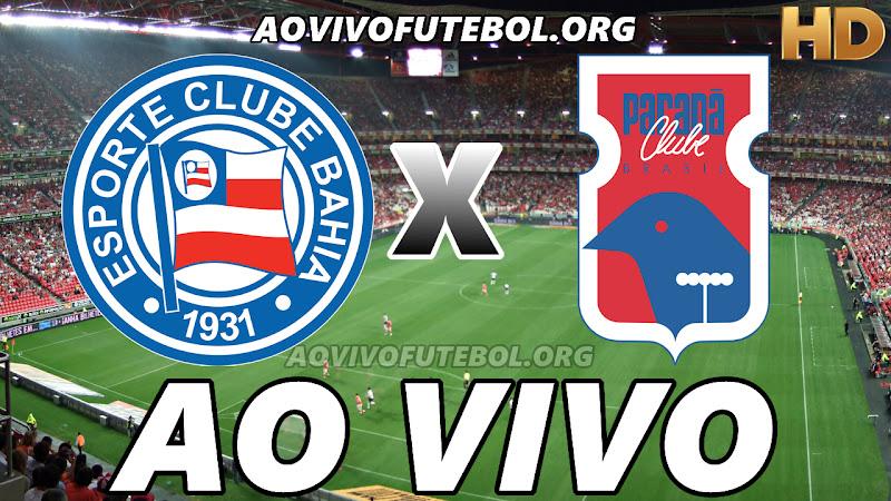 Bahia x Paraná Ao Vivo na TV HD