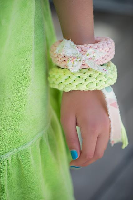 zpagetti; trapilho; trapillo; bracelets; diy