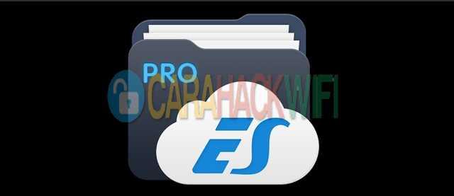 cara mudah melihat password wifi di android menggunakan ES File Explorer Pro