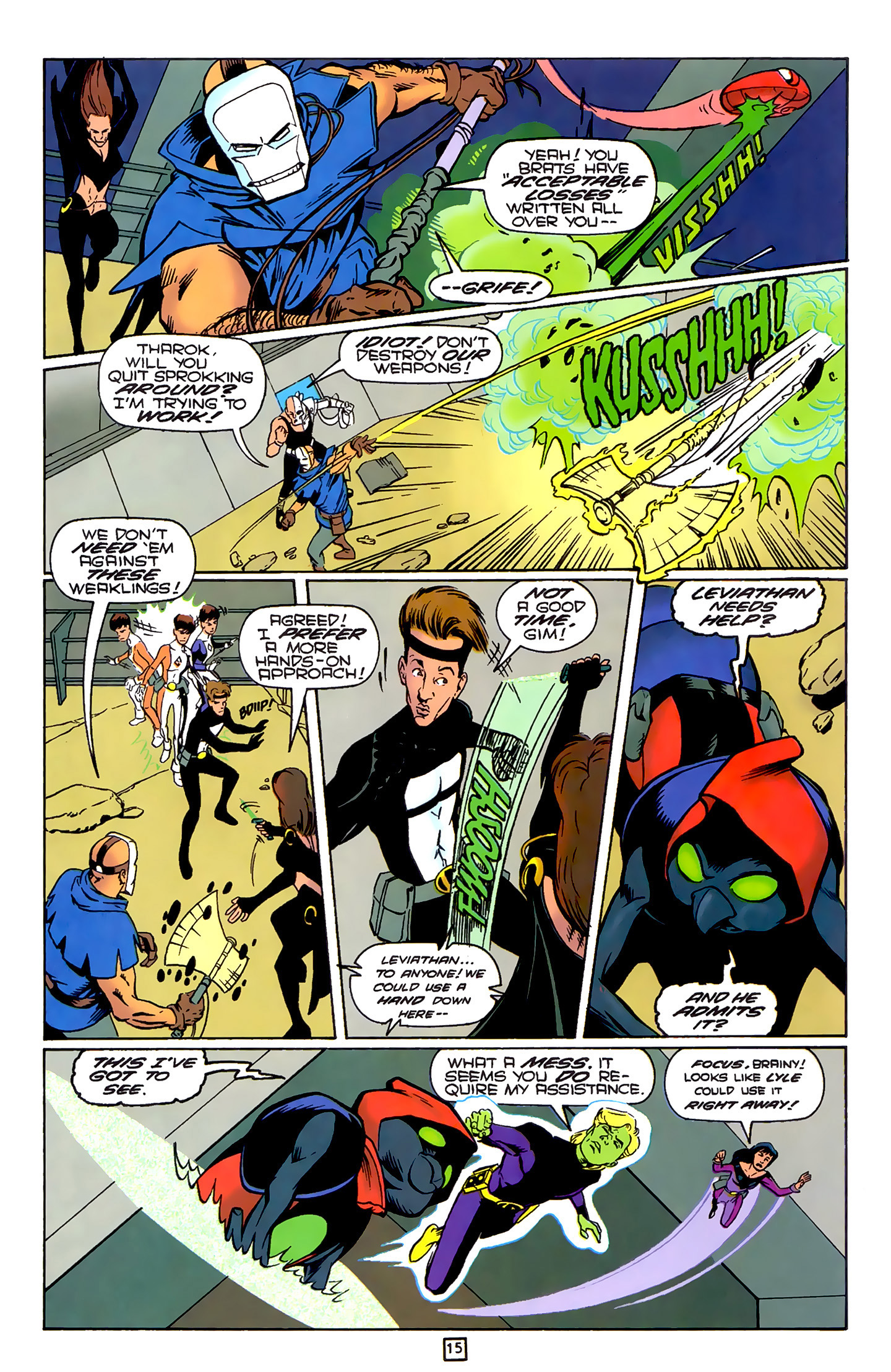 Legion of Super-Heroes (1989) 79 Page 14
