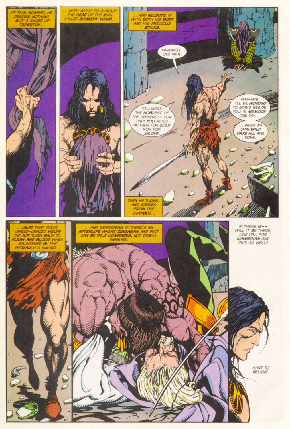 Read online Conan the Adventurer comic -  Issue #14 - 21