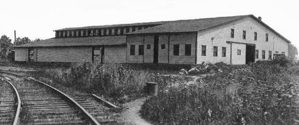 A View Of Some The First Buildings At Princeton Nurseries Photo Credit Friends Nursery Lands