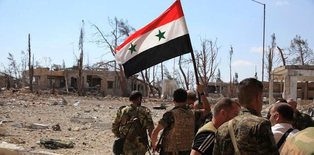 الجيش السورى يعيد تسليح قاعدة الشعيرات