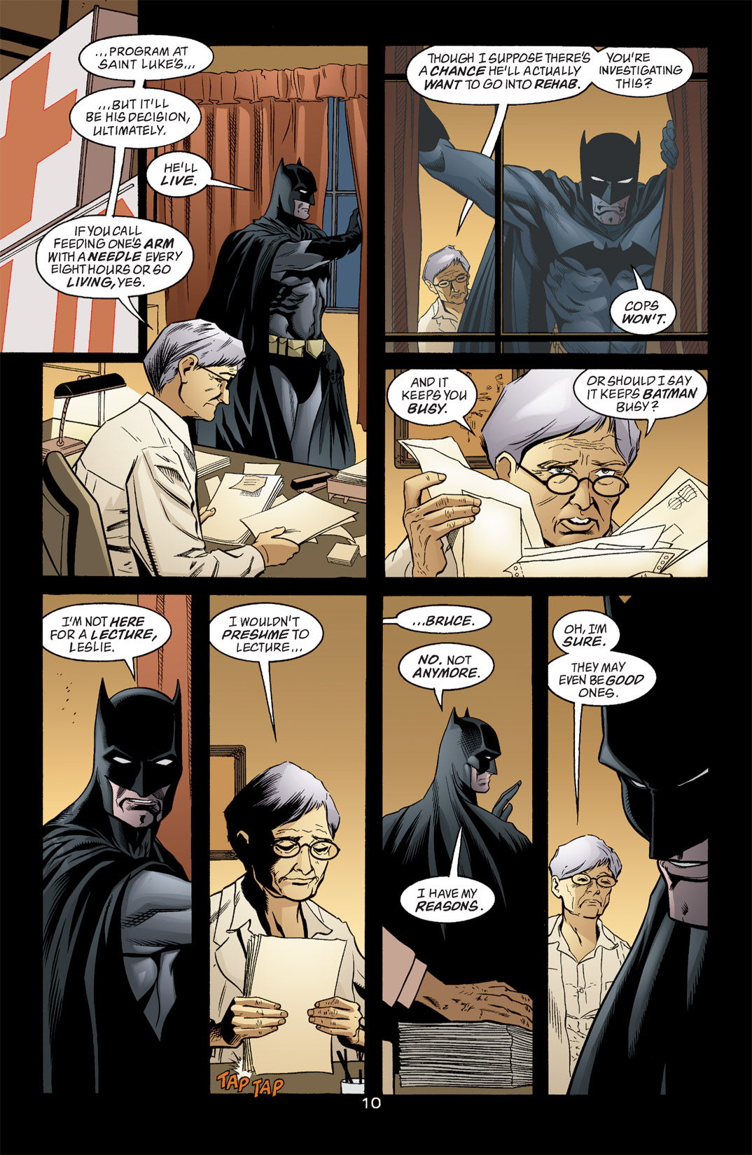 Detective Comics (1937) 768 Page 10