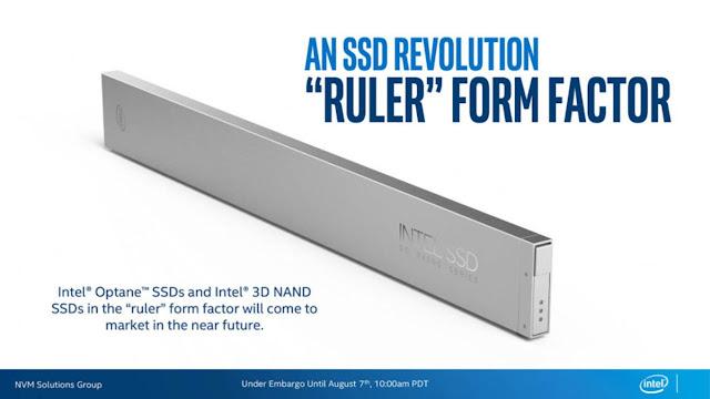 Intel Perkenalkan SSD Berbentuk Penggaris