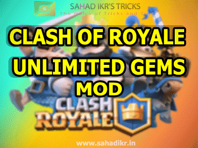 clash of royale unlimited gems mod