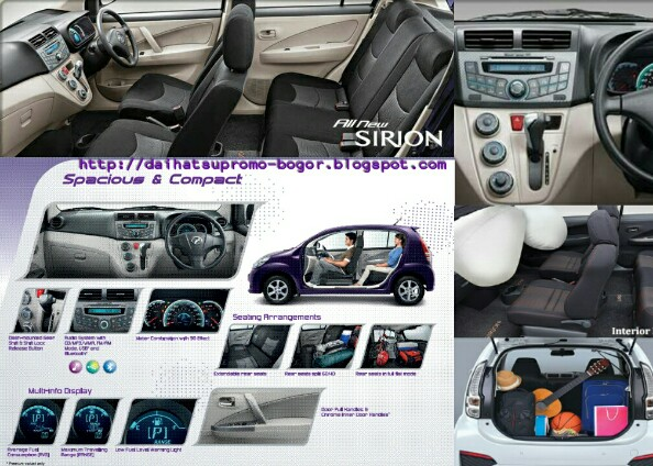 Interior sirion, Interior Daihatsu sirion, Interior Mobil sirion, Interior Mobil,