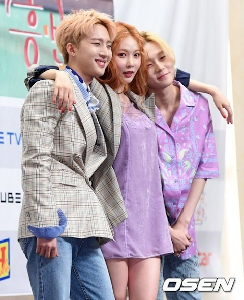 "✰PHOTO✰ Triple H na konferencji prasowej ""Triple H Detective Agency"""