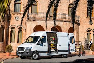 Mercedes-Benz Sprinter Panel Van (2019) Front Side