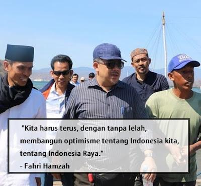 kata bijak fahri hamzah quote, kata mutiara