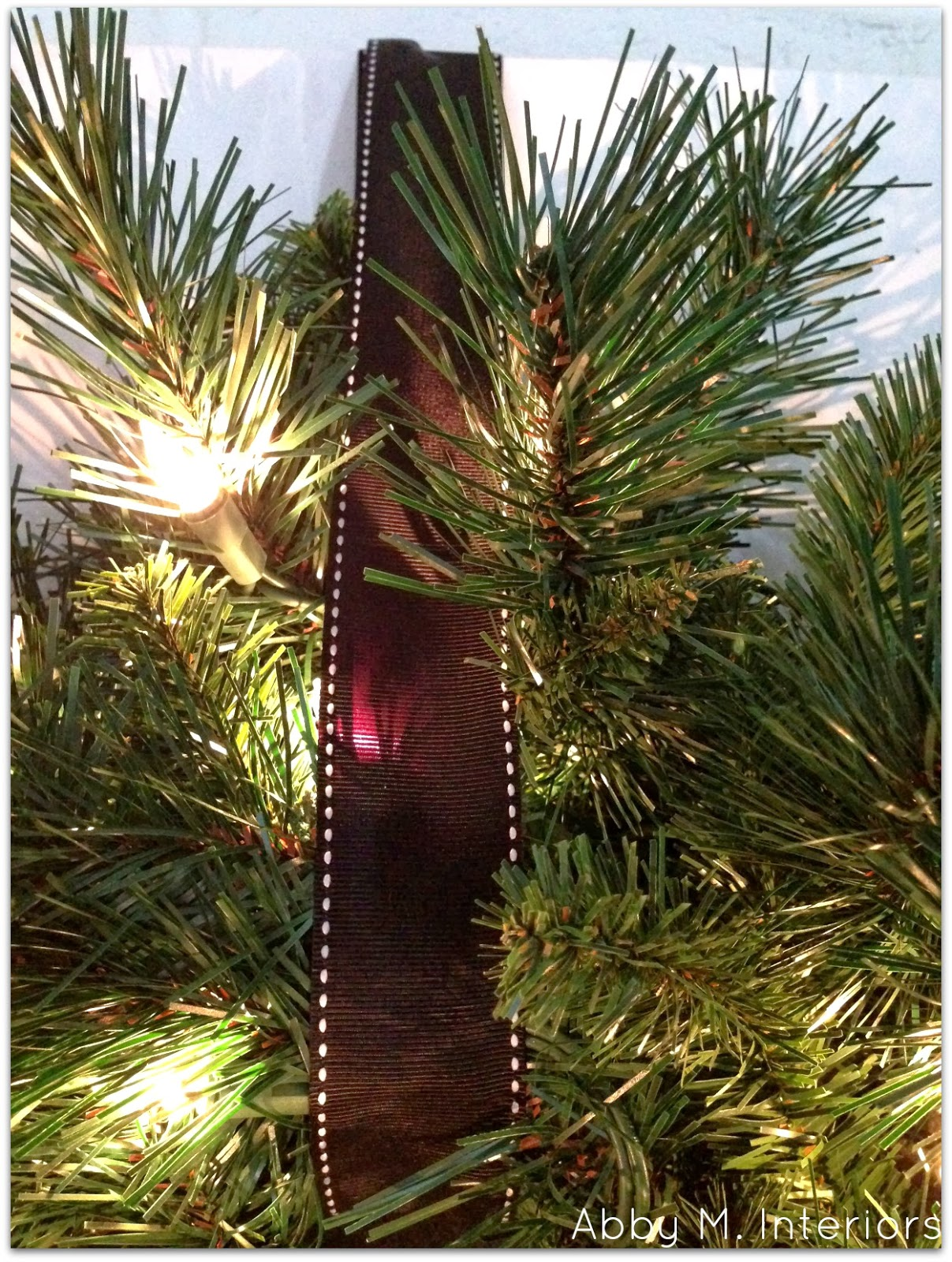 Abby Manchesky Interiors: My Christmas Fireplace: the
