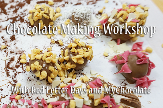 Luxury Chocolate Workshop at MyChocolate With Red Letter Days