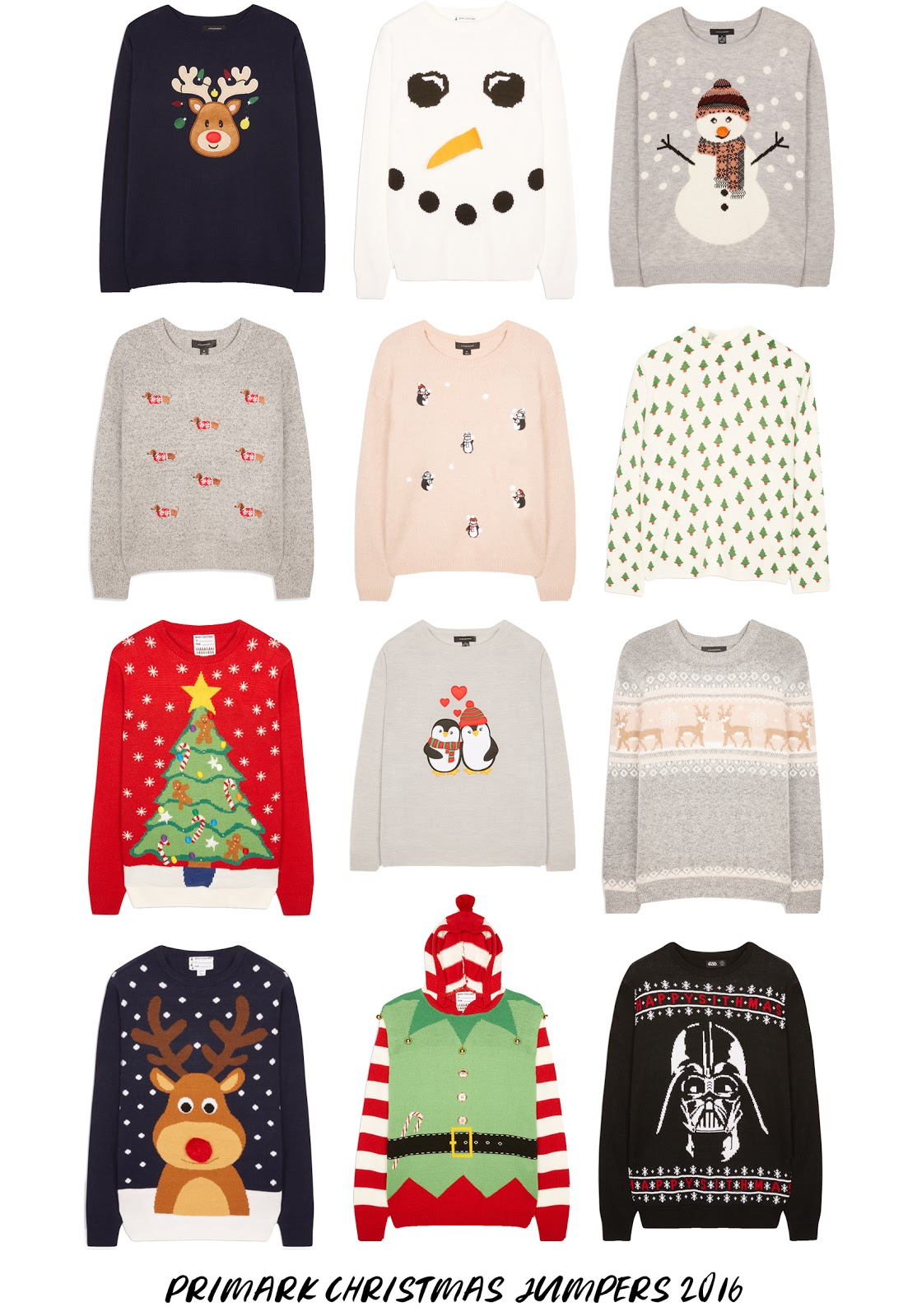 Primark Christmas Jumpers 2016