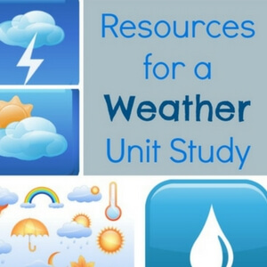Weather Unit Study