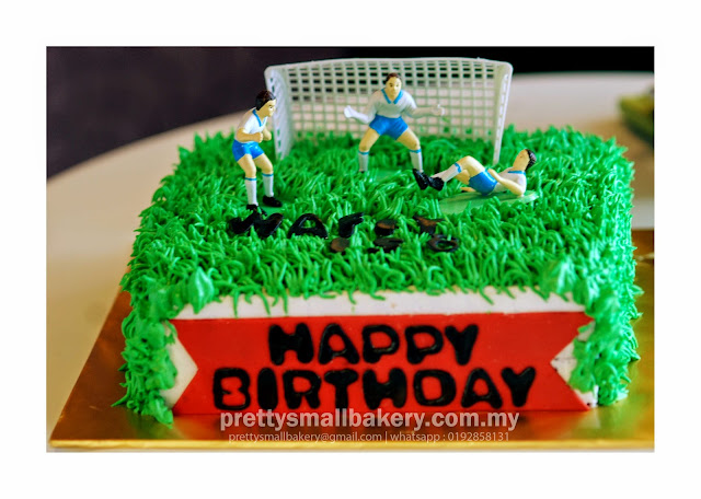 Kek Birthday Peminat Bola Sepak Kek Bolasepak