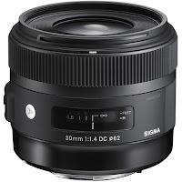 Объектив Sigma 30mm f/1.4 DC HSM для Canon, Nikon, Sony A, Pentax