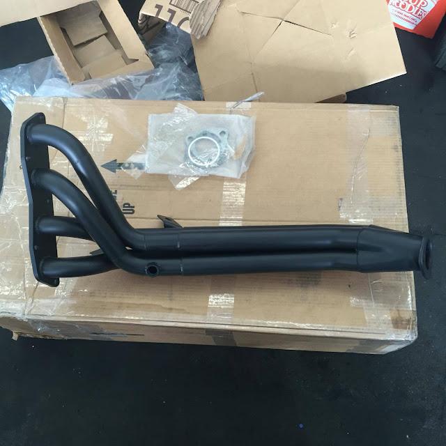 Custom 2ZR-FE long-tube header from RPM Headers
