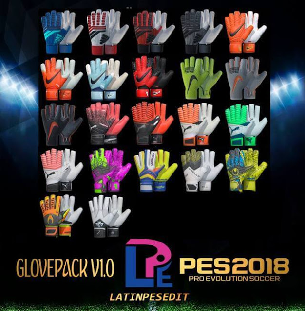 New Glove Pack PES 2018