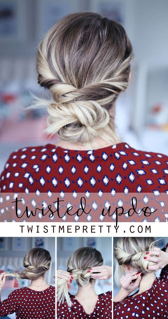 cozy hairstyle idea for this month