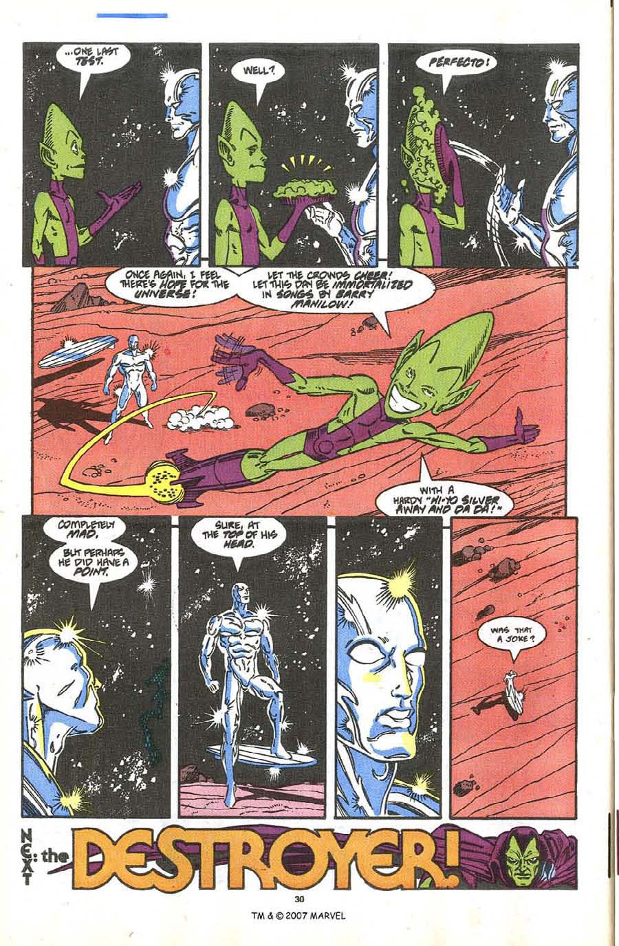 Read online Silver Surfer (1987) comic -  Issue #36 - 32