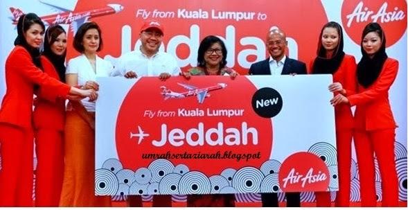 Pelancaran Airasia ke Jeddah