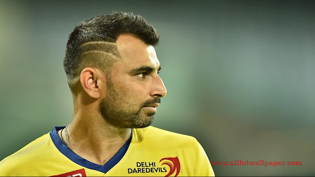 Mohammed Shami Hairstyle Photos