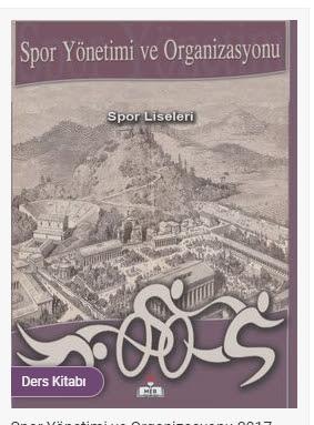 Spor Yönetimi ve Organizasyonu Meb Yayınları Ders Kitabı Cevapları