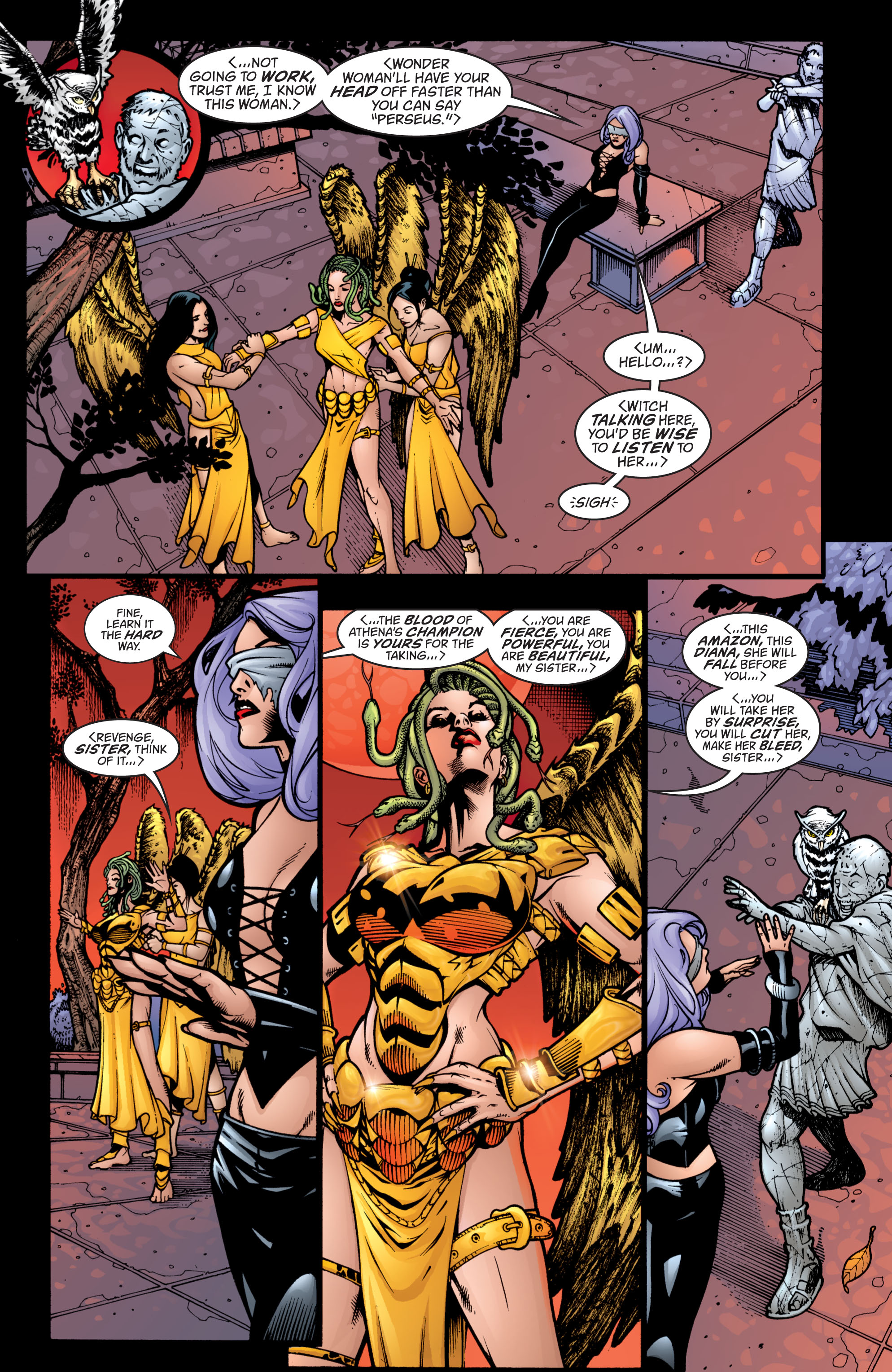 Read online Wonder Woman (1987) comic -  Issue #206 - 10