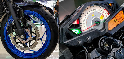 Thông số Kawasaki Z300 2018