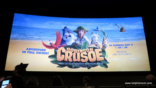 Robinson Crusoe screening
