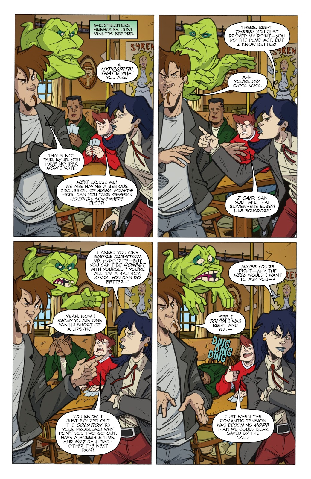 Read online Ghostbusters 35th Anniversary: Extreme comic -  Issue # Full - 8