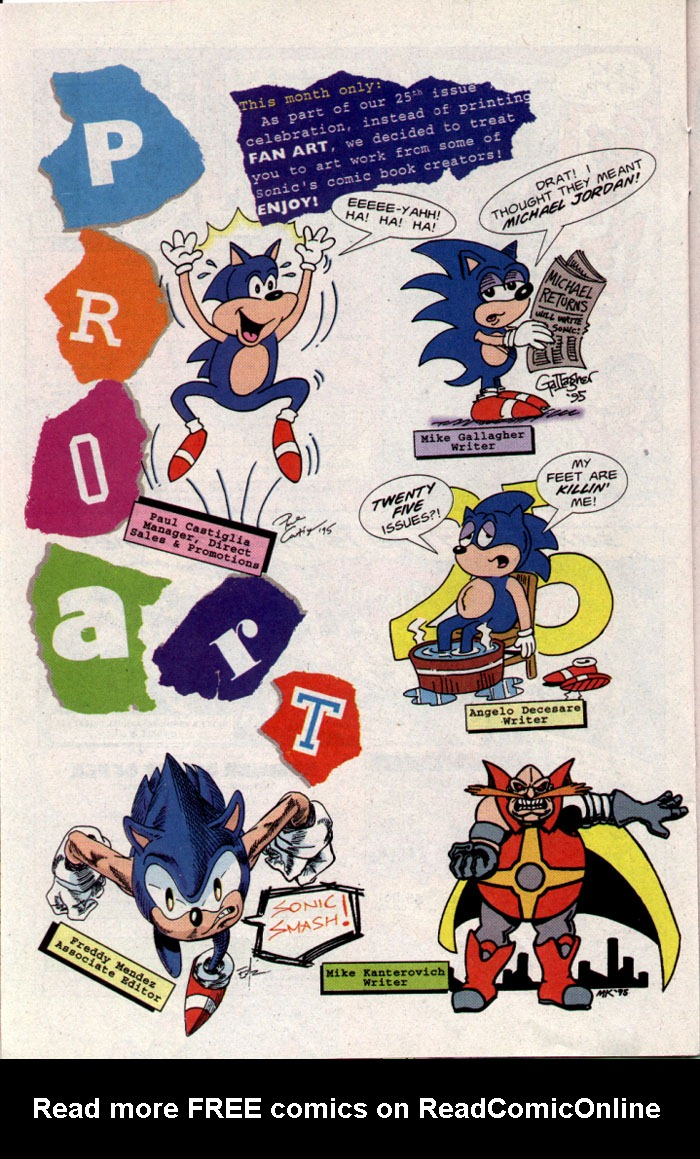 Read online Sonic The Hedgehog comic -  Issue #25 - 18