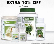 Amway Products : Flat 24% Off + Extra 10% Off @ Healthkart