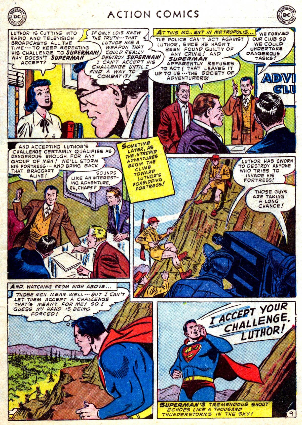 Action Comics (1938) 183 Page 10