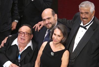 Parte do elenco do Chaves presente no América Celebra Chespirito
