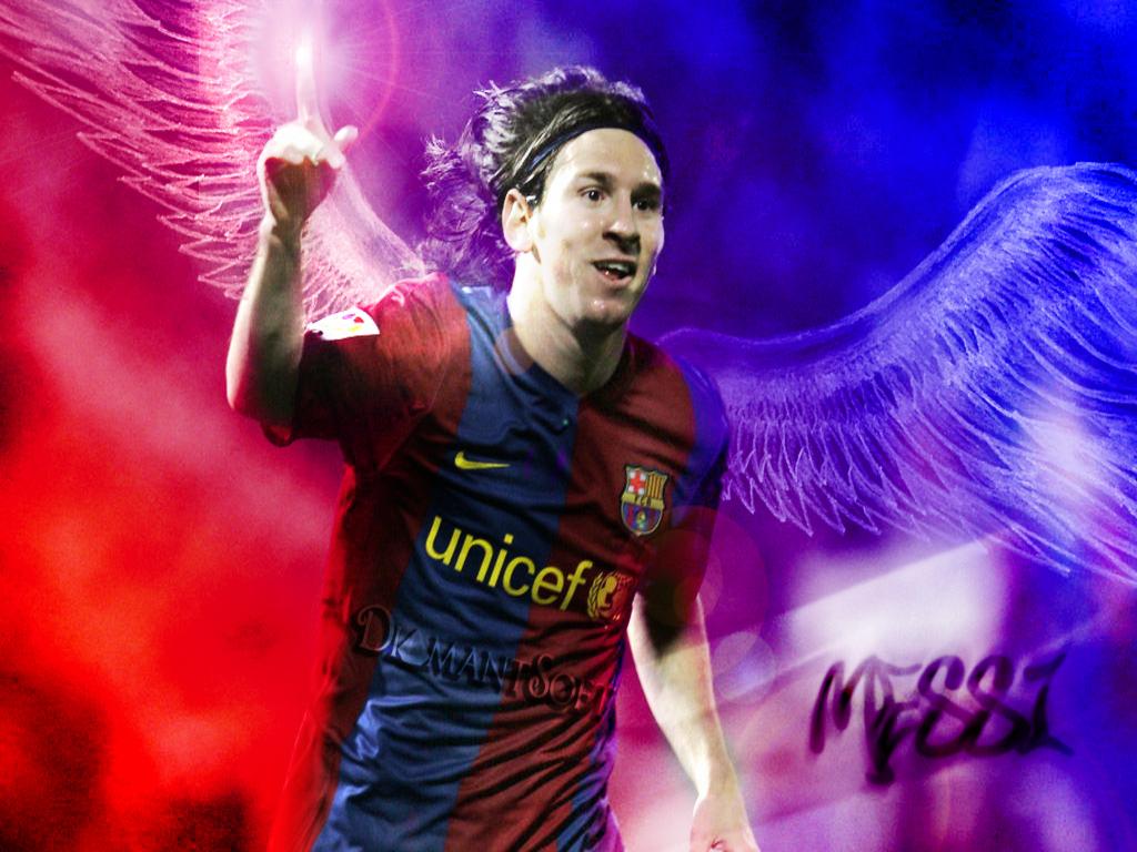 Messi con alas