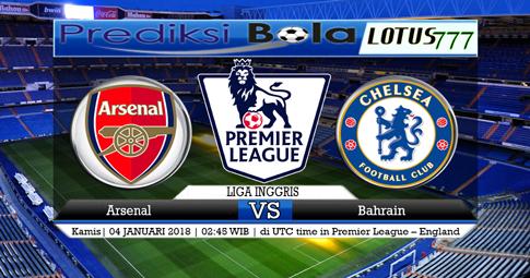 PREDIKSI  Arsenal vs Chelsea  04 JANUARI 2017