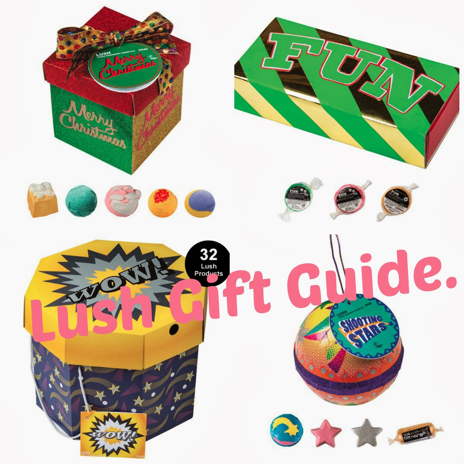 Paige\'s Preferences: Lush Christmas Gift guide.