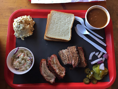 Brisket and Ribs at Stanley's BBQ